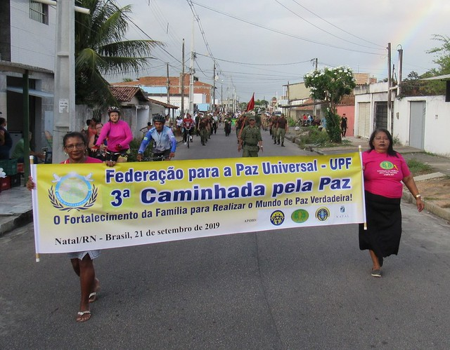 Brazil-2019-09-21-UPF-Brazil Sponsors Brazil's Third Walk for Peace