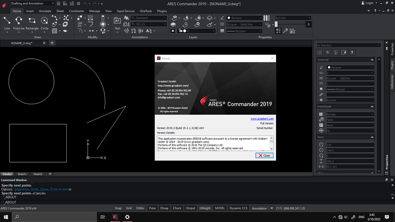 Working ARES Commander 2019.2 x64 full license
