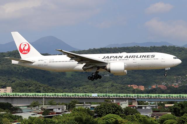 JA710J  -  Boeing 777-246ER  -  Japan Airlines  -  TSA/RCSS 10/10/19