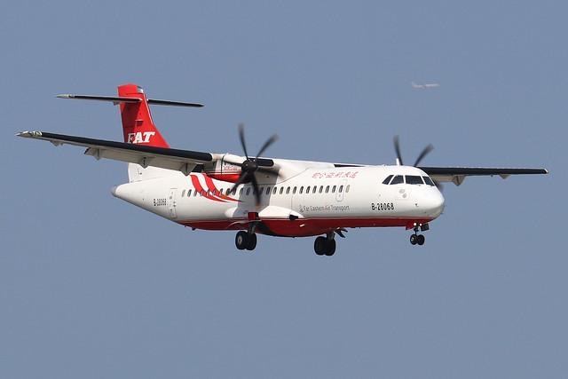 B-28068  -  ATR 72-600  -  Far Eastern Air Transport  -  TSA/RCSS 10/10/19