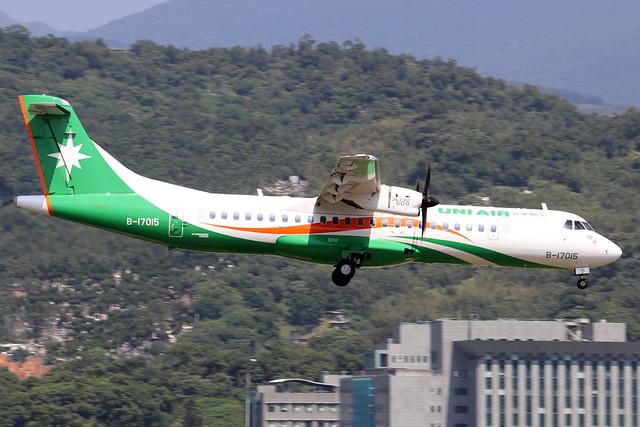 B17015  -  ATR 72-600  -  Eva Air  -  TSA/RCSS 10/10/19