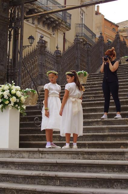 940 Sicile Juillet 2019 - Raguse, mariage dans la cathédrale