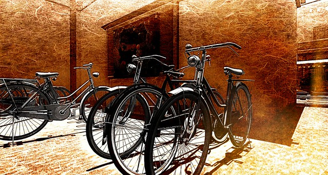 Cycles for Hire @  Chatuchak.....