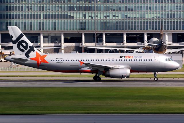 Jetstar Asia   Airbus A320-200   9V-JSH   Hong Kong International