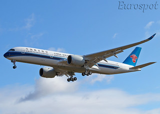 F-WZNX Airbus A350 China Southern