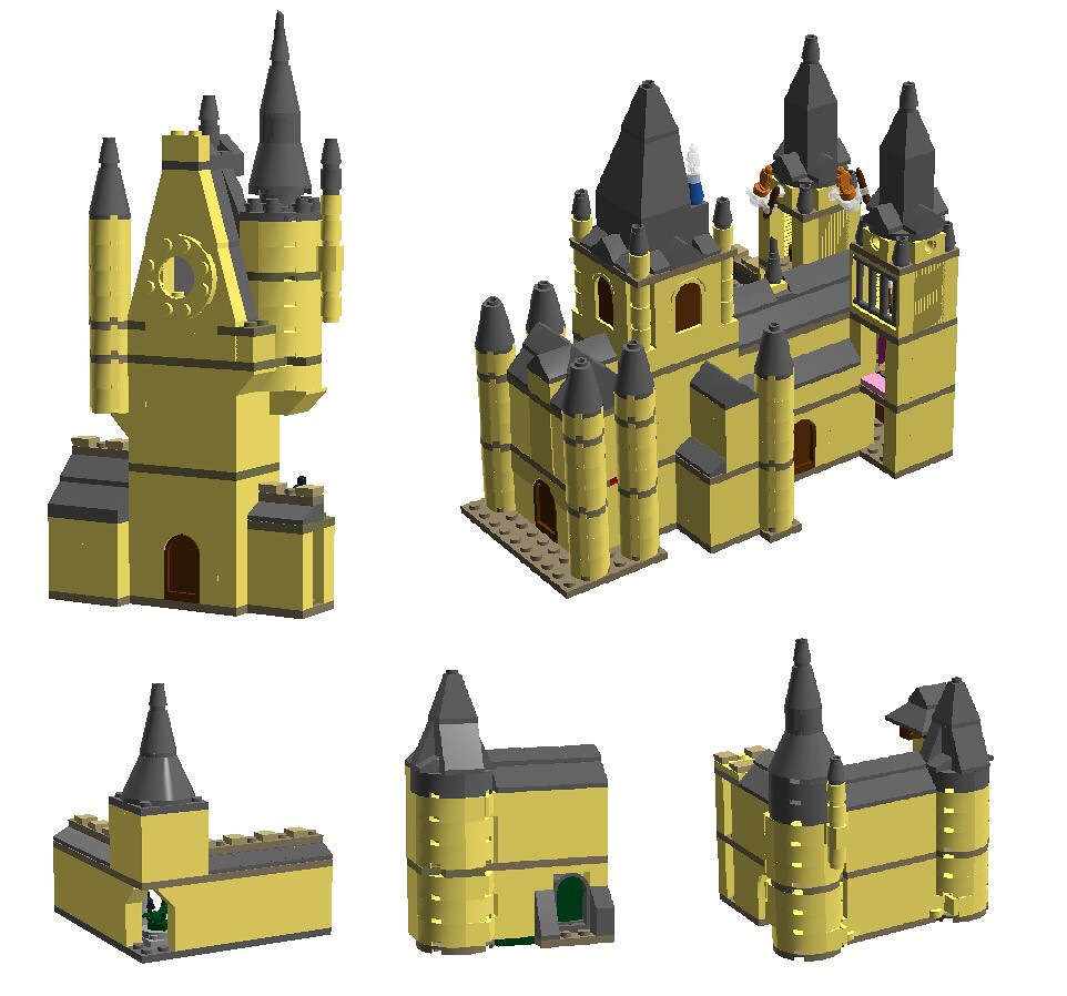 Hogwarts Castle Preview