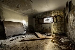 El viejo dormitorio.