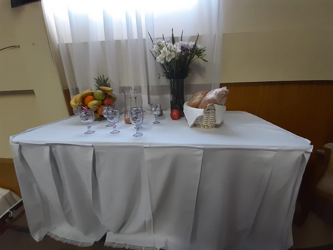 Santa Cena en Iglesia de Penco