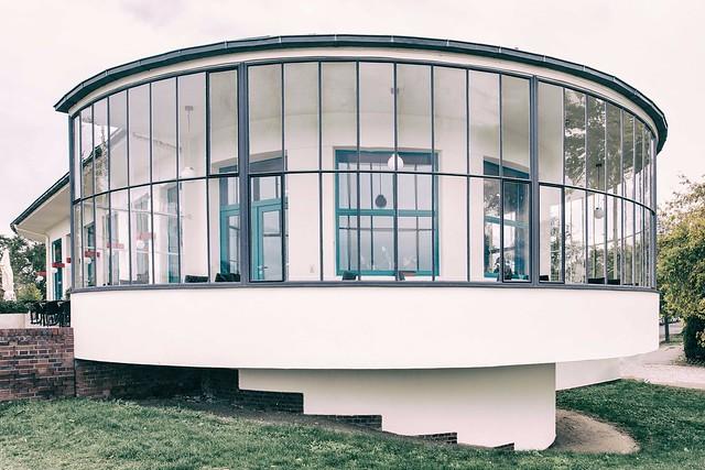 Kornhaus Dessau Bauhausarchitektur