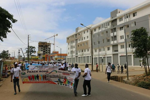 Ivory Coast-2019-08-10-Peace Road Held in Côte d'Ivoire