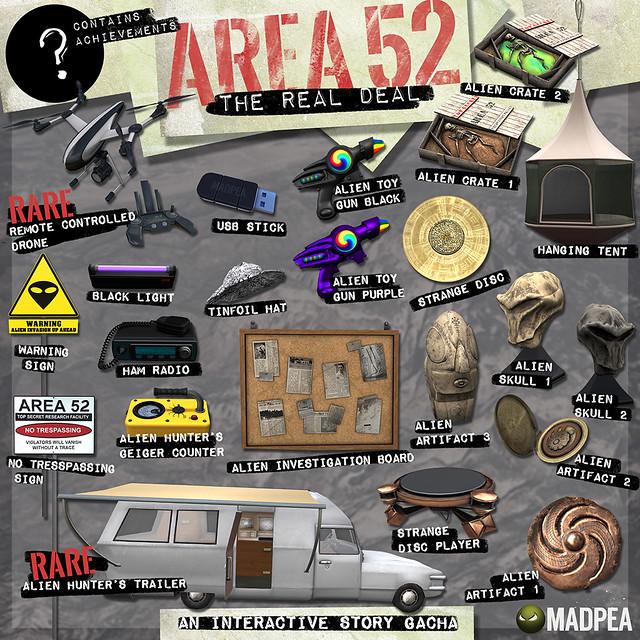 MadPea's Area 52 @Epiphany!