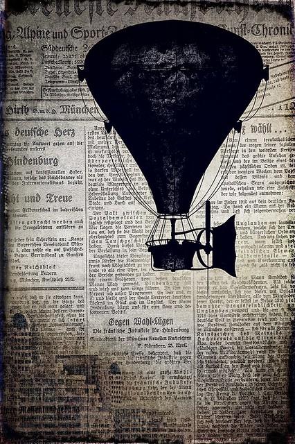 Balloon Rides-Steampunk Style