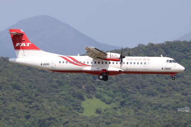 B-28082  -  ATR 72-600  -  Far Eastern Air Transport  -  TSA/RCSS 10/10/19
