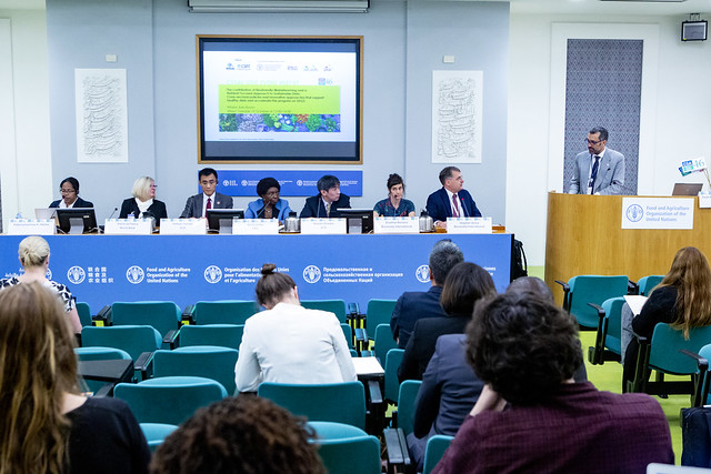 CFS 46 Side Event: SE137 The contribution of Biodiversity Mainstreaming and a Nutrient Focused Approach to Sustainable Diets