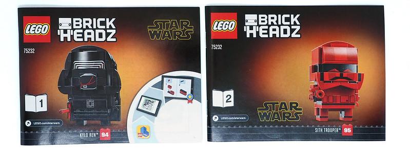 LEGO BrickHeadz Star Wars Kylo Ren and Sith Trooper (75232)