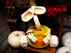 WALL-E Pumpkin At Disneyland