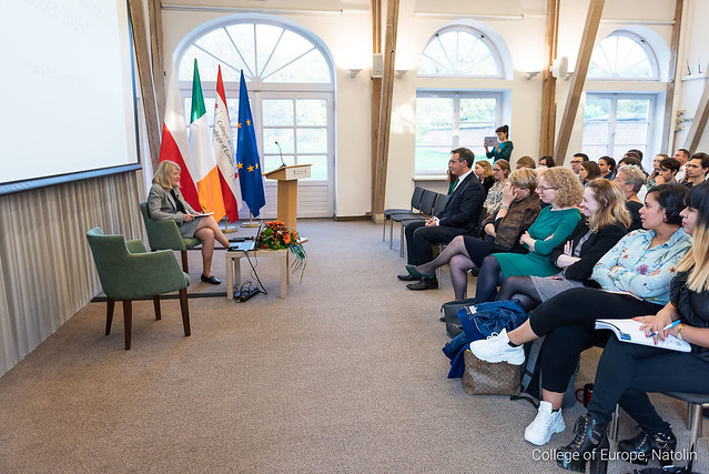 High-level lecture by Professor Mary Daly. 9 October 2019