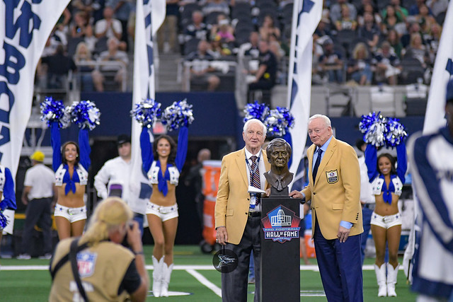 Gil Brandt Ceremony: Packers, Cowboys Game