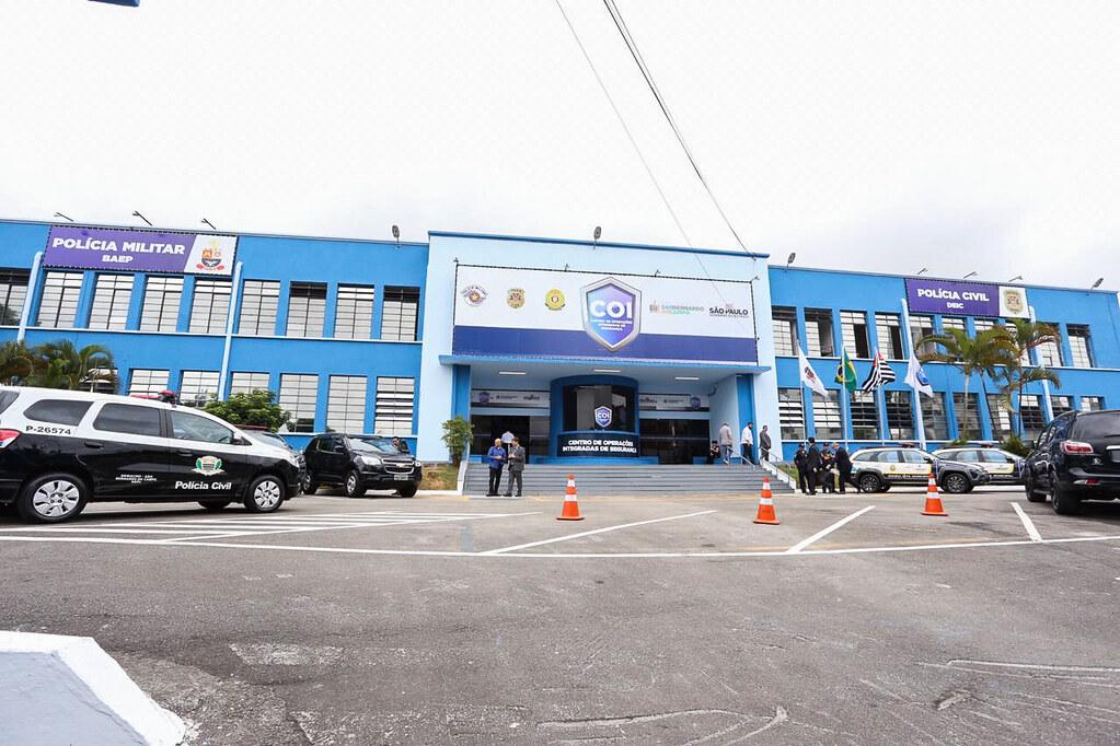 Inauguração do COI - Centro de Operações Integradas