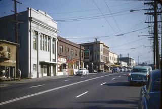 Rainier Avenue near Edmunds Street, circa 1954