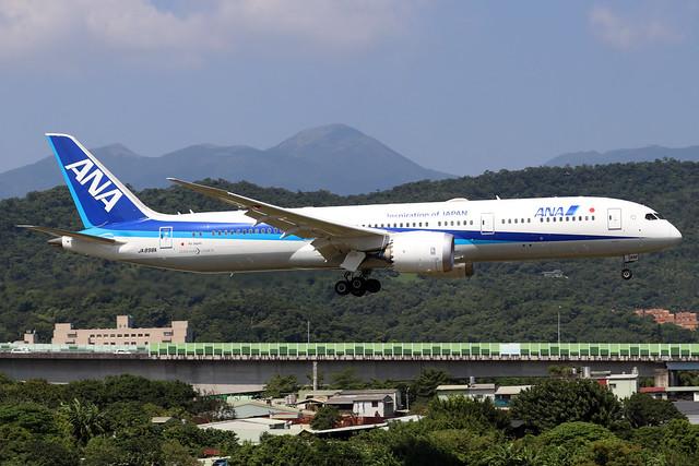 JA898A  -  Boeing 787-9 Dreamliner  -  All Nippon Airways  -  TSA/RCSS 10/10/19