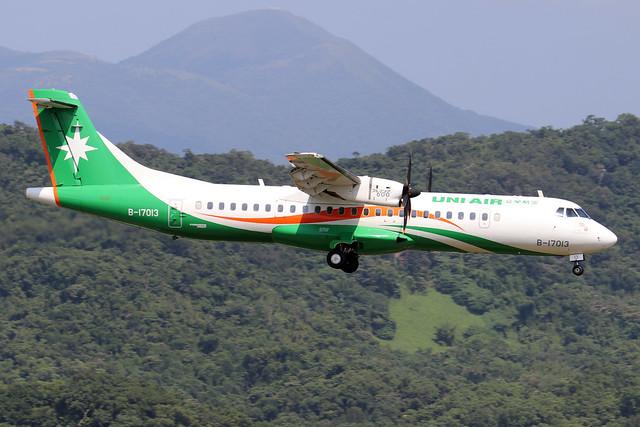 B-17013  -  ATR 72-600  -  Eva Air  -  TSA/RCSS 10/10/19