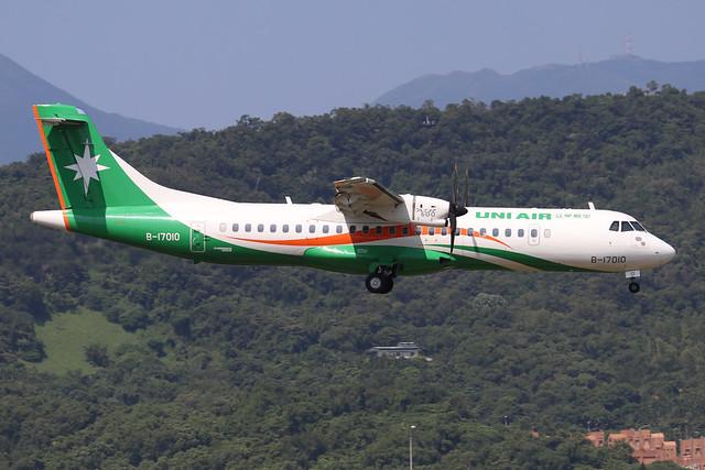 B-17010  -  ATR 72-600  -  Eva Air  -  TSA/RCSS 10/10/19