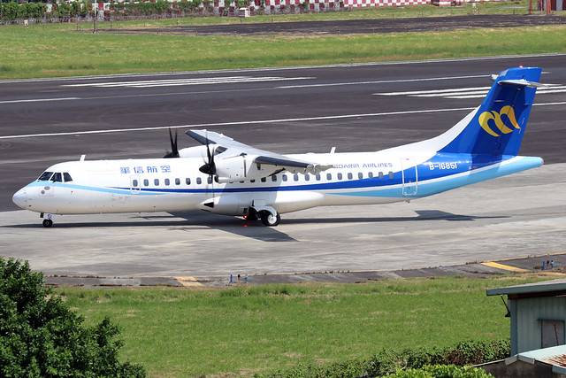 B-16851  -  ATR 72-600  -  Mandarin Airlines  -  TSA/RCSS 10/10/19