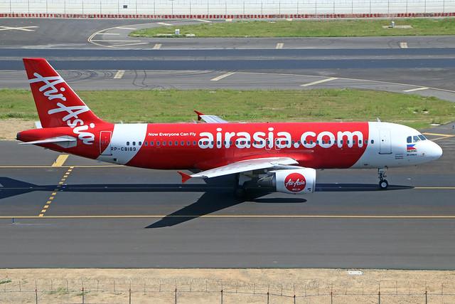 RP-C8189  -  Airbus A320-216  -  Philippenes Air Asia  -  TPE/RCTP 11/10/19