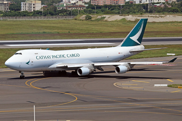 B-LIE  -  Boeing 747-467ERF  -  Cathay Pacific Cargo  -  TPE/RCTP 11/10/19