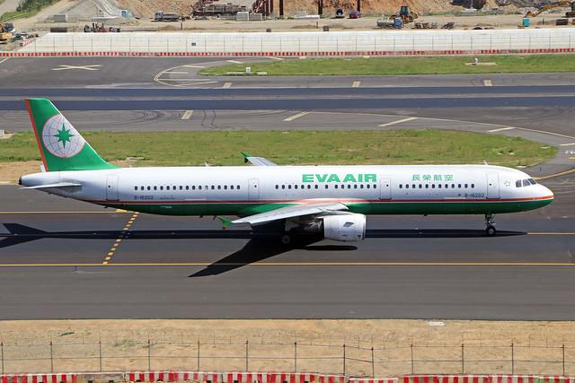 B-16202  -  Airbus A321-211  -  Eva Air  -  TPE/RCTP 11/10/19