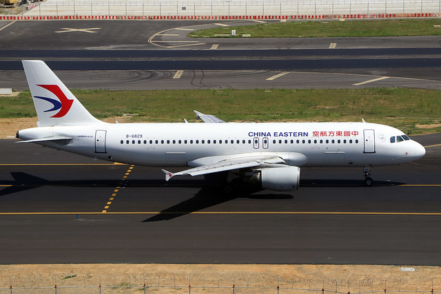 B-6829  -  Airbus A320-214  -  China Eastern  -  TPE/RCTP 11/10/19