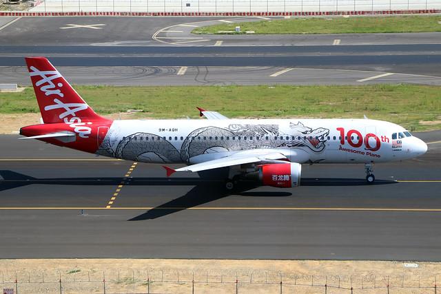 9M-AQH  -  Airbus A320-216  -  Air Asia  -  TPE/RCTP 11/10/19