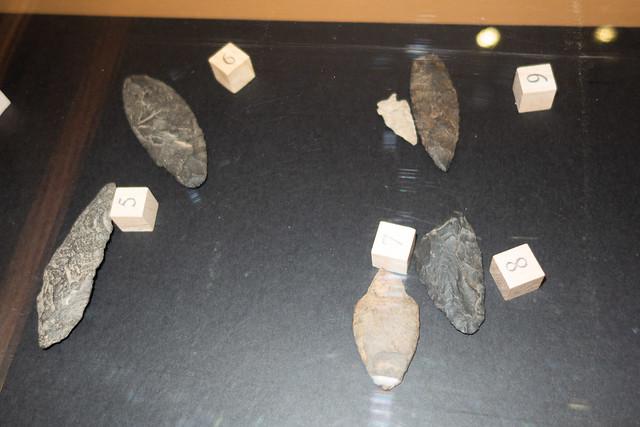 B.C. Native spearpoints