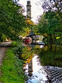 Leeds Liverpool Canal at Saltaire