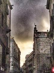 Barcelona. Casco antiguo. Iglesia de la Virgen de Belén.