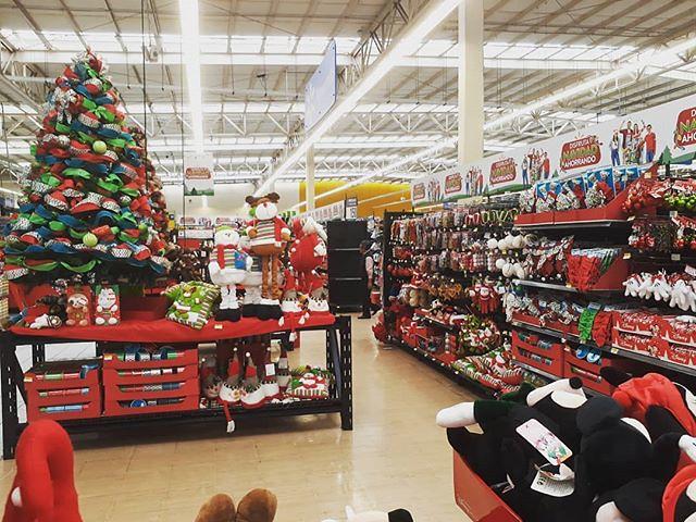 Navidad has arrived early at the Quetzaltenango, Guatemala Wal-Mart. . . . #travel #digitalnomad #Guatemala #Xela