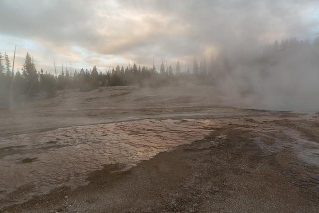 Steaming at Yellowstone