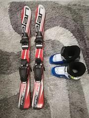 Detske lyze Elan 90cm a lyzaky Nordica 29-30 (235m - titulní fotka