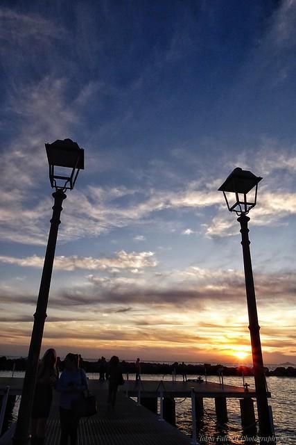Portici sunset