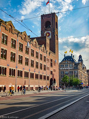 Beurs van Berlage and de Bijenkorf department store