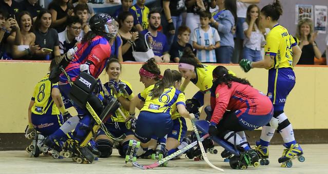 OK Liga femenina 2019-20 AlcorconVsAstur