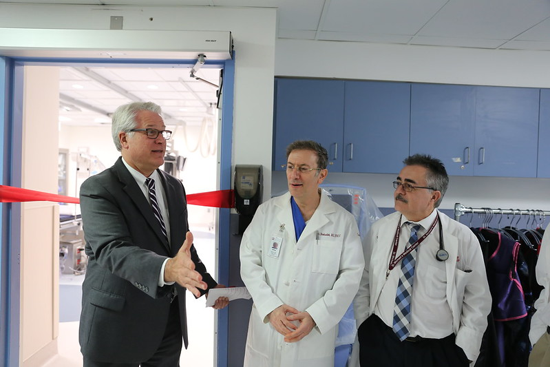 SMMC -- Ribbon Cutting for New Cath Lab