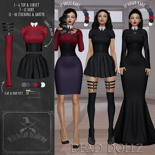 Dead Dollz - Witchcraft Academy Gacha Collection