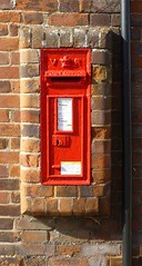 Victorian Postbox, Long Melford, CO10.