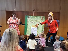A lion in the meadow storytimes, Upper Riccarton Library