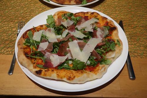 Pizza Parma (für jeden eine)