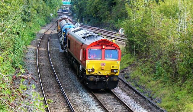 DB Cargo  66206 - Kirkby In Ashfield