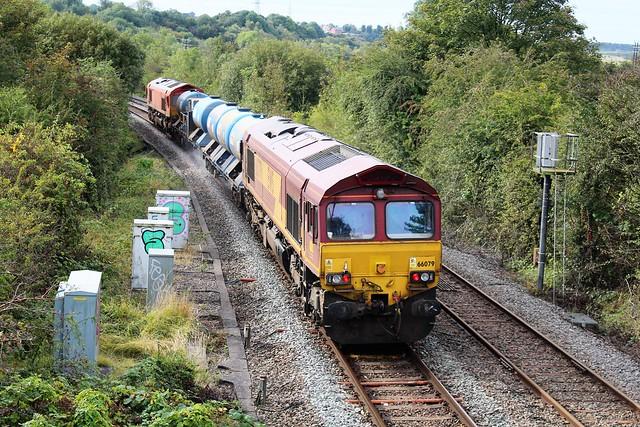 EWS - DB Cargo 66079 - Kirkby in Ashfield