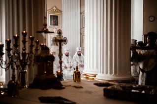 15 октября 2019, Патриаршее богослужение в Александро-Невской лавре / October 15, 2019, Patriarchal service at the Alexander Nevsky Lavra